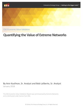 ESG Economic Value Validation: Quantifying the Value of Extreme Networks