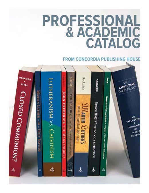 Professional & Academic Catalog
