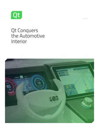 White paper: Qt Conquers the Automotive Interior