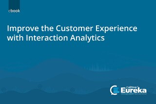 eBook - Improve the Customer Experience with Interaction Analytics