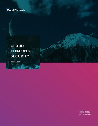Cloud Elements Platform Security