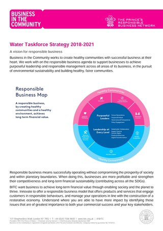 Water Taskforce Strategy 2018 - 2021