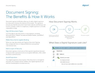 Document Signing: The Benefits & How It Works