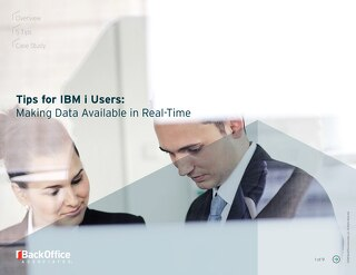 Data Replication Tips for IBM i
