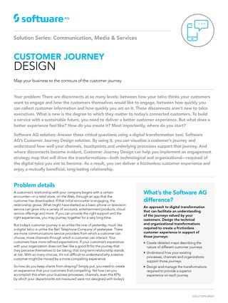CUSTOMER JOURNEY DESIGN
