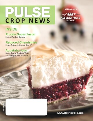 APG, Pulse Crop News, Spring 2018
