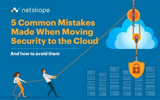 5 Security Mistakes When Moving to the Cloud