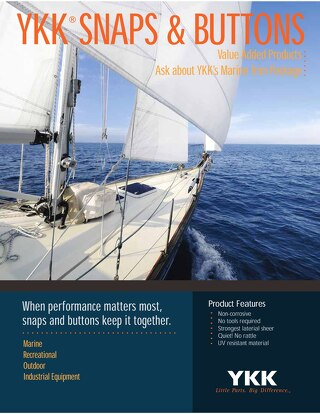 YKK Marine / Outdoor Snap & Button Catalog