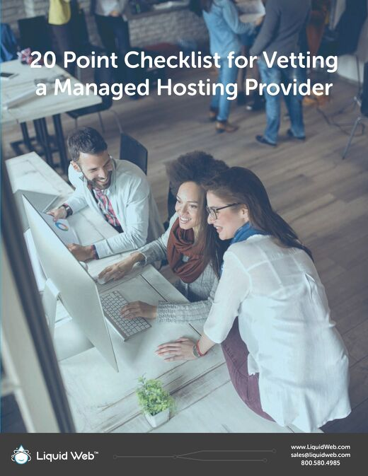20 Point Checklist for Vetting a Managed Hosting Provider