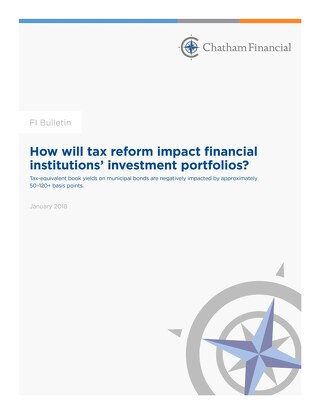 How Will Tax Reform Impact Financial Institutions' Investment Portfolios