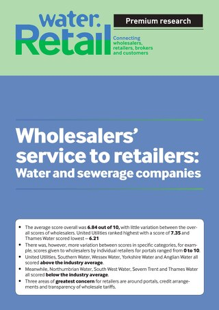 Water.Retail wholesalers