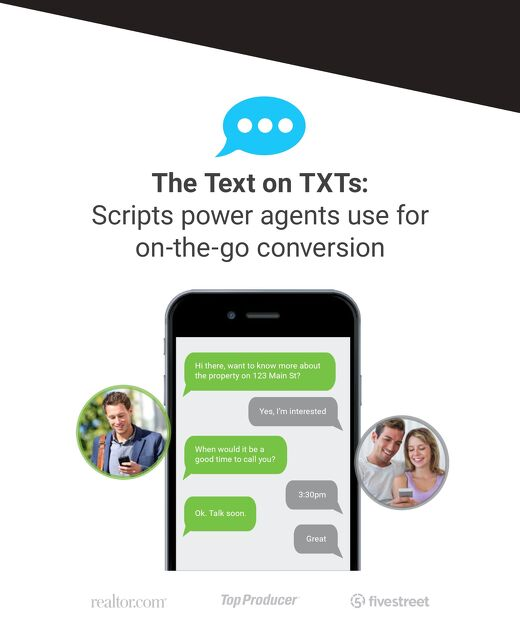 The Text on TXTs: Scripts from Power Agents