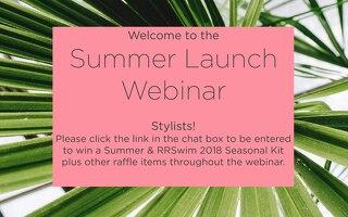 Summer Launch Webinar
