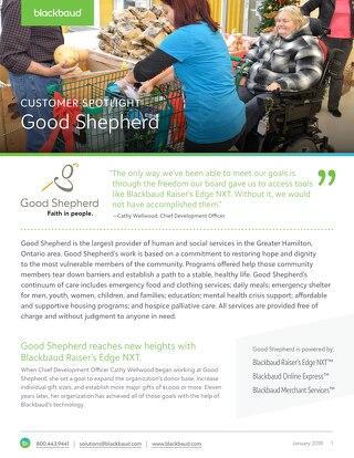 Good Shepherd Spotlight