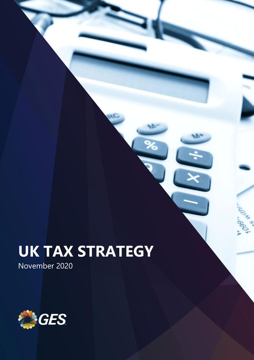 UK Tax Strategy Document 2020