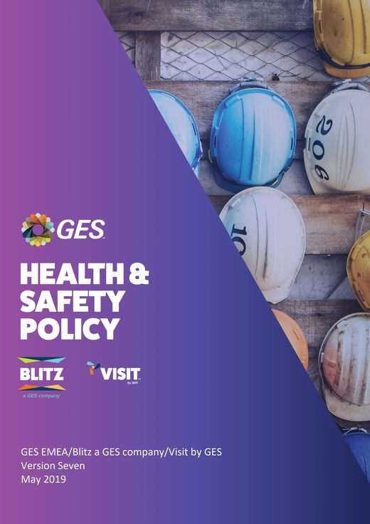 GES Health Safety Policy - August 2018