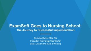 AOT Detroit—ExamSoft Goes to Nursing School