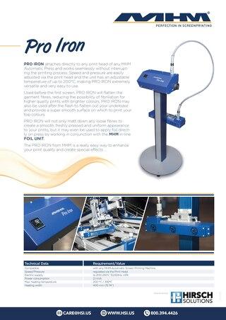 MHM Pro Iron