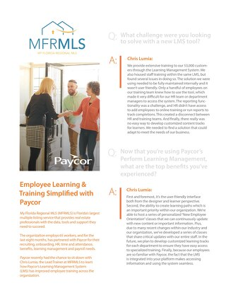 Learning Management System (LMS) Case Study