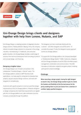 Case Study Uni-Orange Design