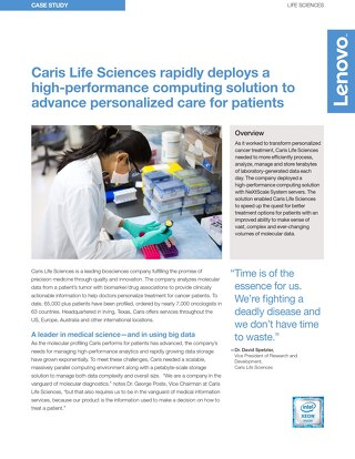 Case Study Caris Life Sciences