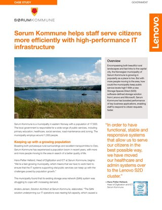 Case Study Sørum Kommune