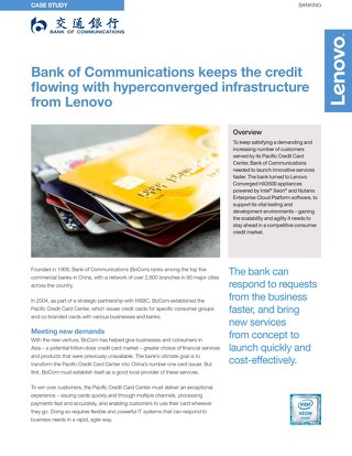 Case Study Bank of Communications