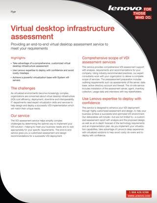 Virtual Desktop Infrastructure Assessment