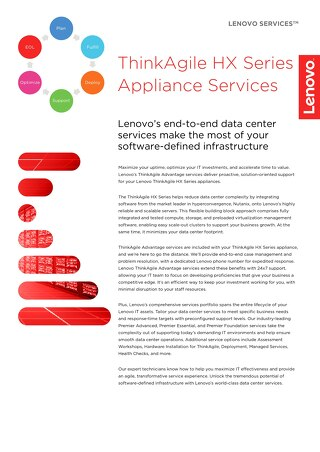 ThinkAgile HX Series Appliance Services