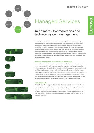 Lenovo Managed Services