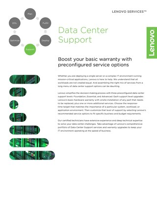 Lenovo Data Center Support Services