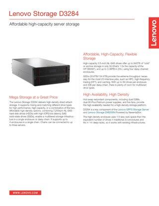 Lenovo Storage D3284