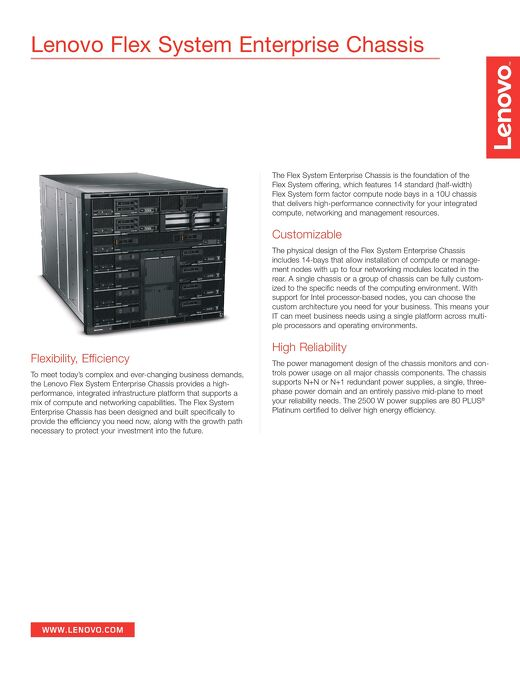 Flex System Enterprise Chassis