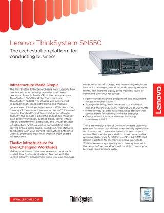 ThinkSystem SN550