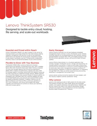 ThinkSystem SR530