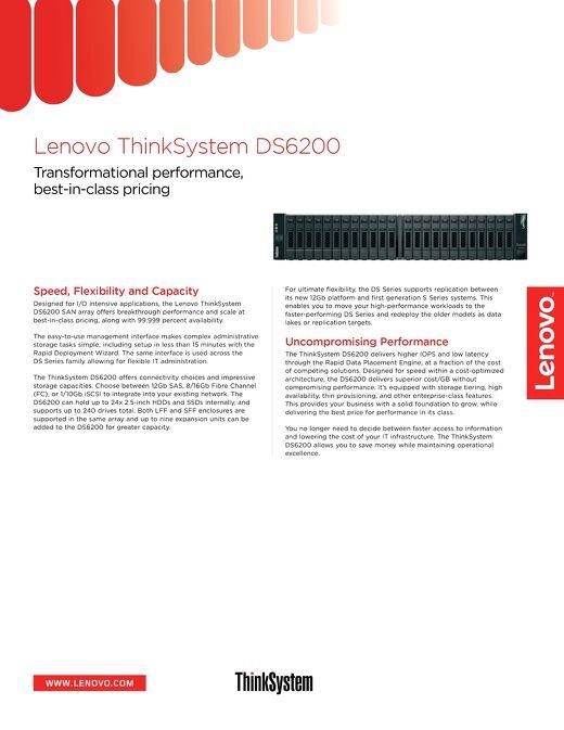 ThinkSystem DS6200