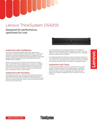 ThinkSystem DS4200