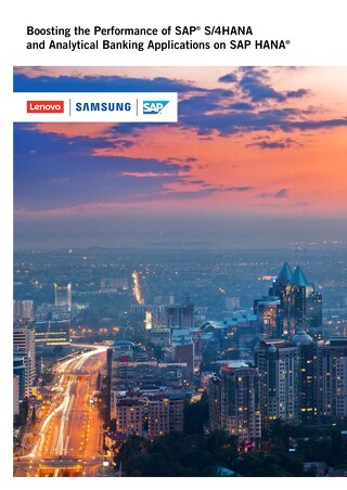 Boosting the Performance of SAP S4HANA and Analytical Banking Applications on SAP HANA
