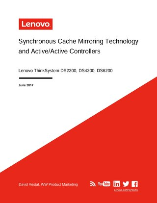 ThinkSystem DS Series Cache Mirroring Technology User Guide