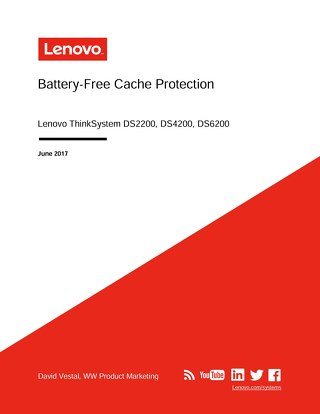 ThinkSystem DS Series - Battery-Free Cache Protection User Guide
