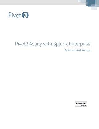 [Reference Architecture] Pivot3 HCI with Splunk Enterprise