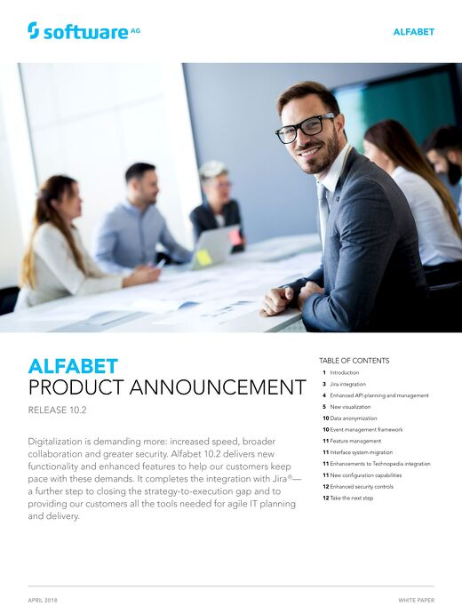 What's new in Alfabet 10.2