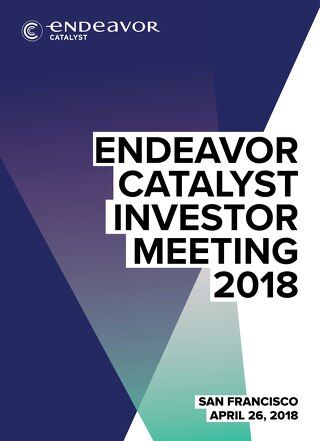 2018 Endeavor Catalyst Meeting Program