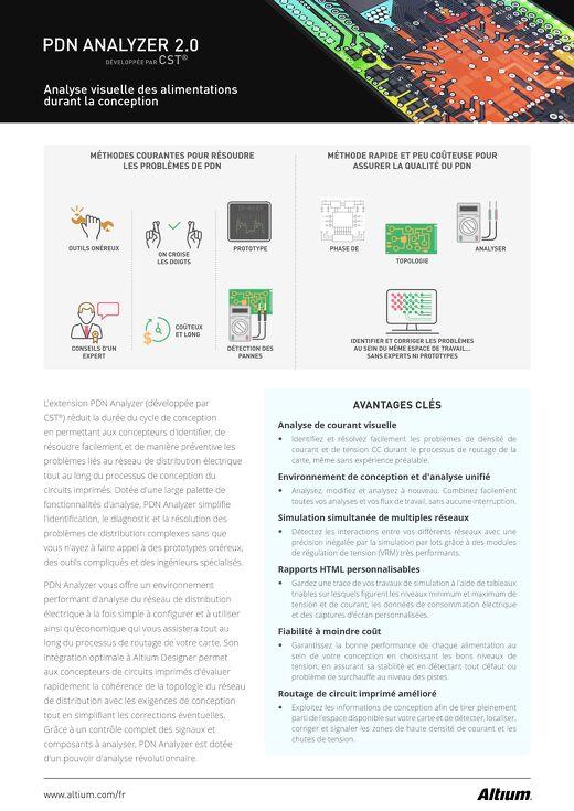 PDNA 2.0 Fiche Technique