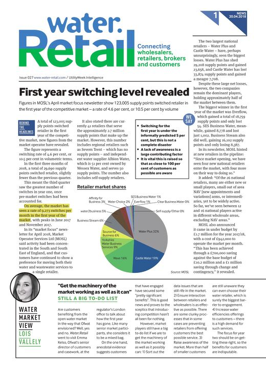 Water.Retail Issue 27