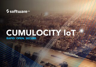 CUMULOCITY IoT:  Rapid.  Open.  Secure.