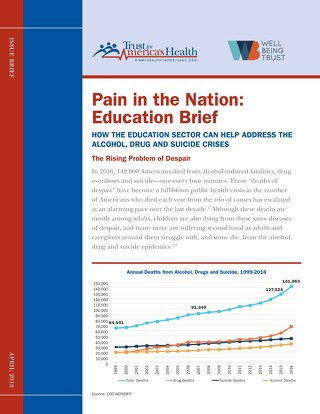 Pain in the Nation: Education Brief