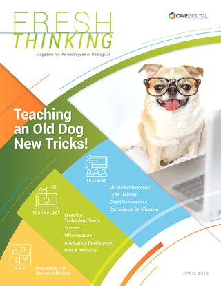 Fresh Thinking: Teaching an Old Dog New Tricks