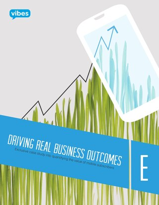 E | Driving Real Business Outcomes