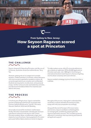 Case Study Part 1: Seyoon's Story